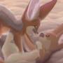 Desert Tumbles Cape Fox