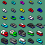 Lots of little PixelCars!
