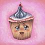 Ultra kawaii desu cupcake by Fifty-50