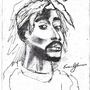 Tupac by EvanGlennon