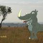 Rhinocesaurus! by Mieshka