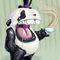 Posh Pudgy Panda