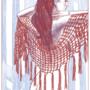 Apollonia Saintclair 898 - 20190905 Le châle (The new shawl)