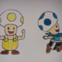 Two Toads Colored