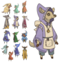 Tiny Town Characters: the merchant