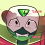 Peridot is about to take it up (transparent ver.)