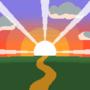Pixel Sunset / Puesta de sol / 日没
