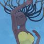 Art trade whit friend - jellyfish-
