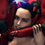 Rey and Futa Sith in the club