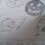 Doodles in class by BanglaBoy96