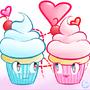 Kawaii Cupcake by Kashi