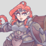 [COMMISSION] Dwarf Paladin and Her Steed