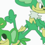 Pansage and Simisage going nuts