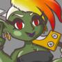 Punky Goblin Sword girl