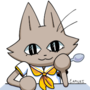 Cat in a Sailor Uniform