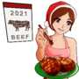 Happy New Year 2021 beef Tuesday JS