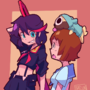 Ryuko and Mako Talking