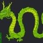 Green Dragon by Peglay