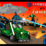 Androids vs Zombies by Dan-Dark