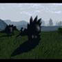 Graceful Stegosaurus