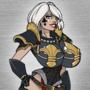 A fairly p*rny violent space nun