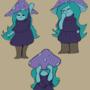 mushroom girl and her ideas