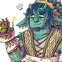 Noah the firbolg and Forrest the spirit