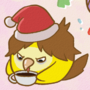 Christmas bird balls