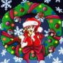 Vendetta Christmas Wreath