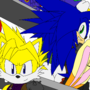Sonic x FF7