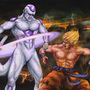 Goku vs Frieza by Blud-Shot