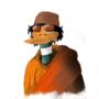 Gaddafi Duck by SugarCain