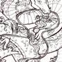 Good Luck Dragon - Inked by Sabtastic