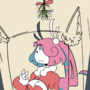 BunBun Under the Mistletoe
