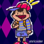 drawing of ness. from earthbound.