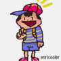 drawing of ness. from earthbound. (ALT)