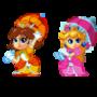 Chibi Mario Princesses