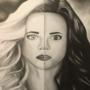 Portrait: Killer Frost and Caitlin Snow