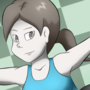 Wii Fit Trainer Drawing