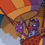 Spyro and balloonist are having an adventure!
