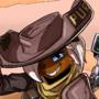 Space cowboy Percy