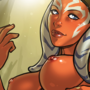 Ahsoka Tano commission nude variation