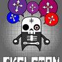 Skeleton wants crosses by Chaos-1001