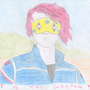 Gerard Way (art is the weapon) by Finny-Houston