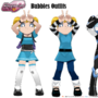 PPGD - Bubbles Outfits - Paperdoll