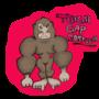 Thigh Gap Gorilla