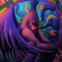One winged gorilla