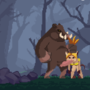 2d Furry Pixel Art Platformer Game