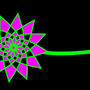 Flower made of diamonds by Feldhacker