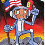 Space Monkey by BeneathTheFloorboard
